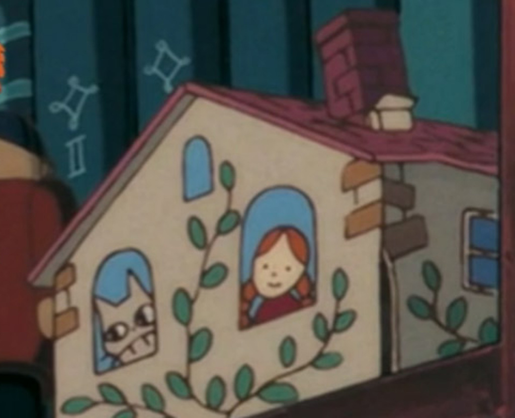 Mei and Totoro Dollhouse (Zoomed) - Kikis Delivery Service Easter Eggs