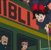 Studio Ghibli Bus (Ghibli Wording)