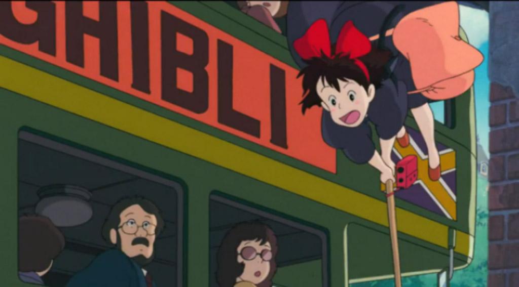 Studio Ghibli Bus (Ghibli Wording) - Kikis Delivery Service Easter Eggs