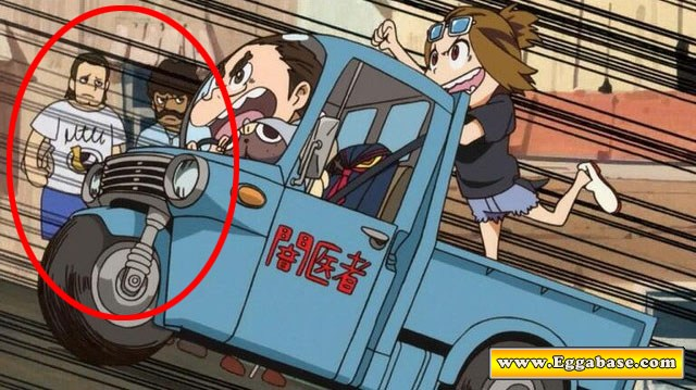 Pulp Fiction Cameos - Kill La Kill easter egg