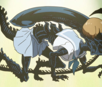 Mako As A Xenomorph Alien