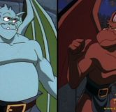 Brooklyn and Broadway Gargoyles (Disney)