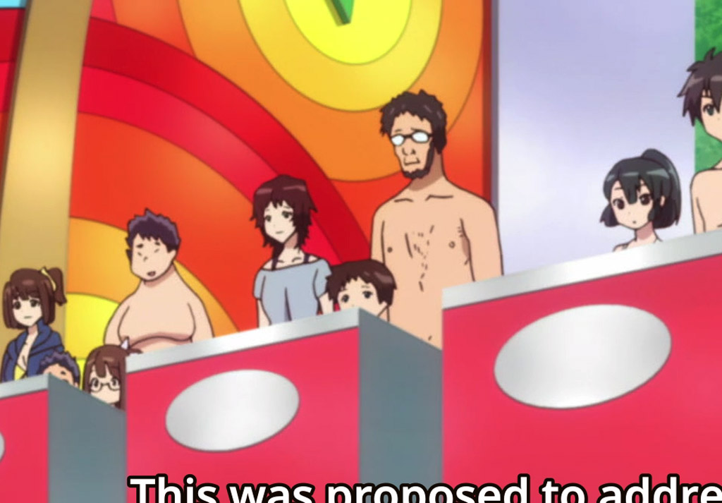 Ikari Family Cameo (Close-Up) - When Supernatural Battles Became Commonplace Easter Eggs