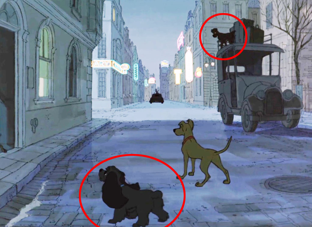 Lady and Tramp from Lady and the Tramp - 101 Dalmatians Easter Eggs