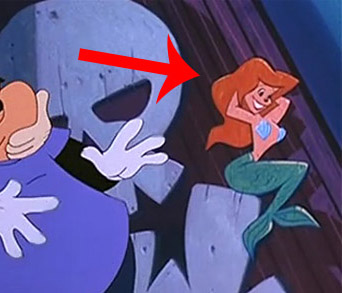 Ariel Cameo (The Little Mermaid)