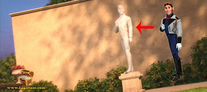 Hans Cameo (Frozen) - Big Hero 6 Easter Eggs