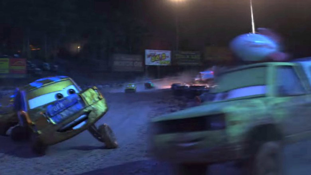 Pizza Planet Truck - Cars 3 Easter Eggs