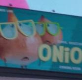Onions Movie Billboard (Close-Up)