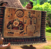 Ron Clements and John Musker Tapestry