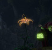 Magical Golden Flower from Tangled
