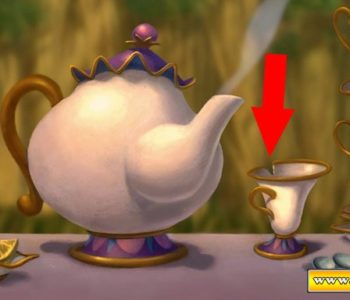Mrs Potts and Chip (Closeup)