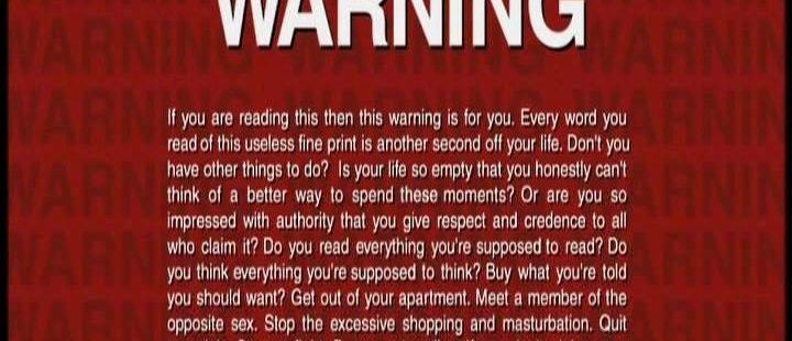 Tyler's Hidden Warning