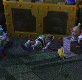 Buzz Lightyear Toy (Zoomed)