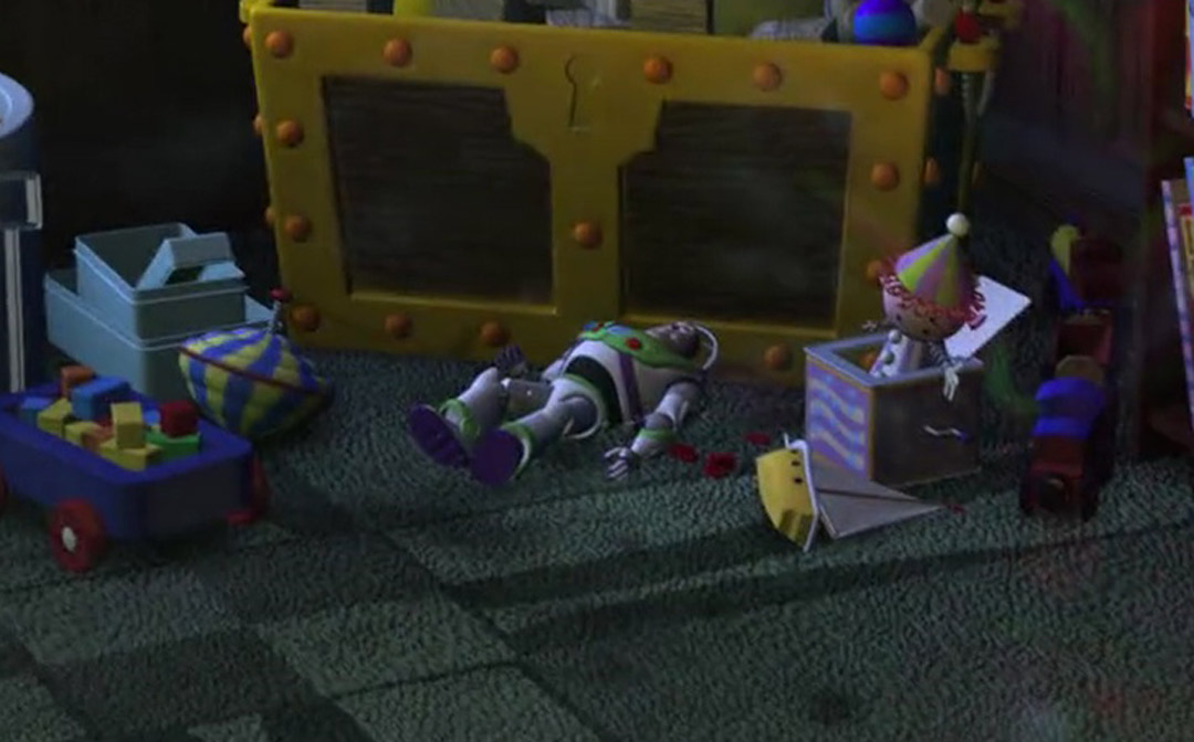 Buzz Lightyear Toy - Finding Nemo Easter Eggs