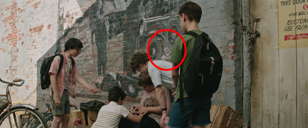 Hidden Pennywise Painting IT Easter Eggs Eggabase - It painting