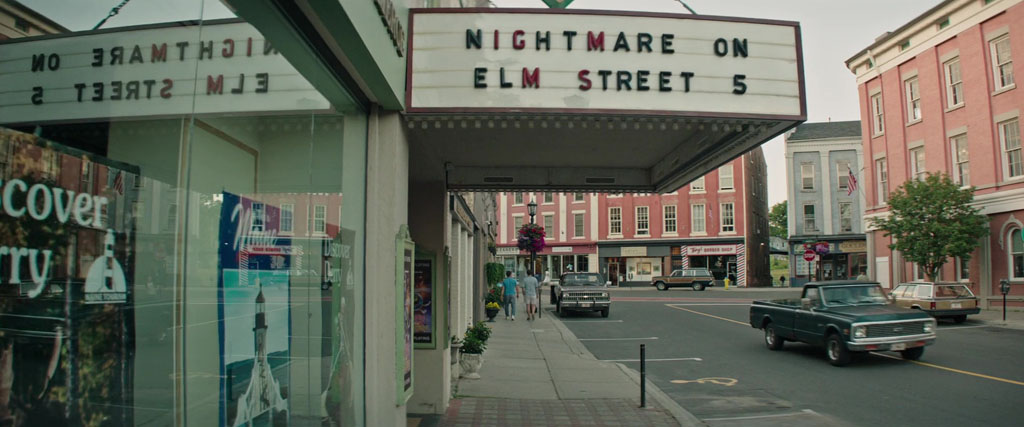 Nightmare On Elm Street 5 Theater Sign - IT Easter Eggs