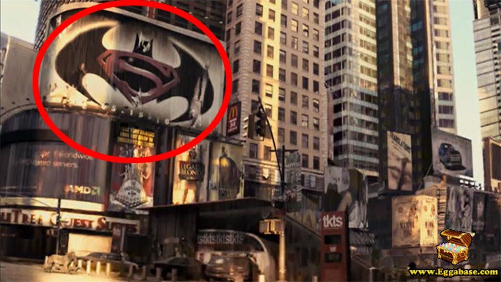Batman Vs Superman Logo - I Am Legend easter eggs
