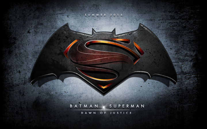 Official Batman Vs Superman Logo 2016
