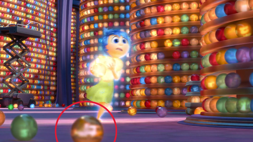 Pizza Planet Truck (First Appearance) - Inside Out Easter Eggs