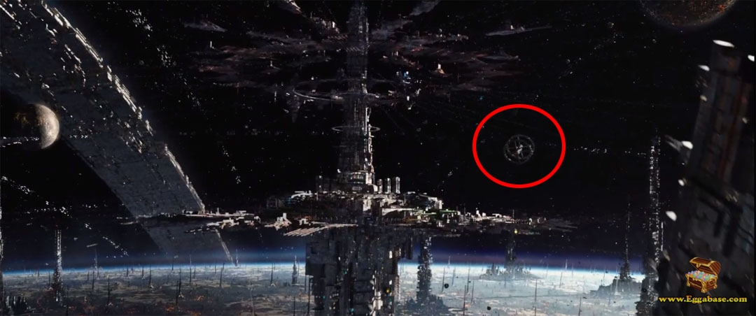 Space Station V (2001 A Space Odyssey) - Jupiter Ascending Easter Eggs