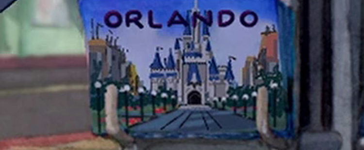Disney World Post Card