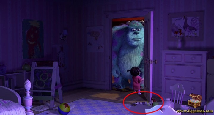 Jessie Doll (Toy Story) - Monsters Inc easter eggs