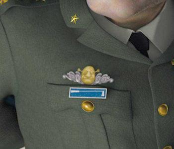 Shrek's Head (Close-Up)