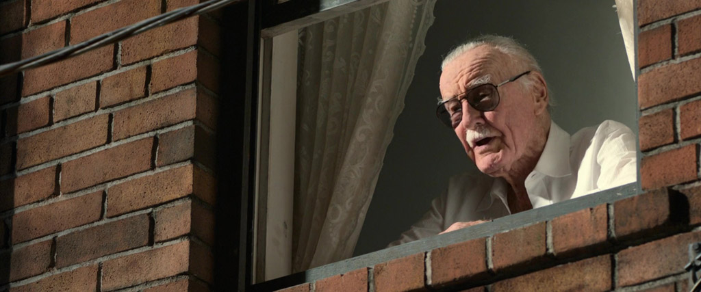 Stan Lee In A Window - Spider-Man: Homecoming Easter Eggs