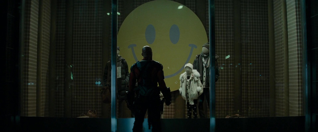 The Comedians Badge - Suicide Squad Easter Eggs