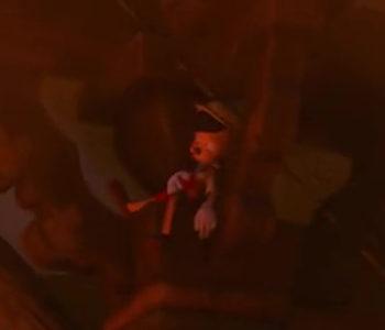 Pinocchio Cameo (Close-Up)