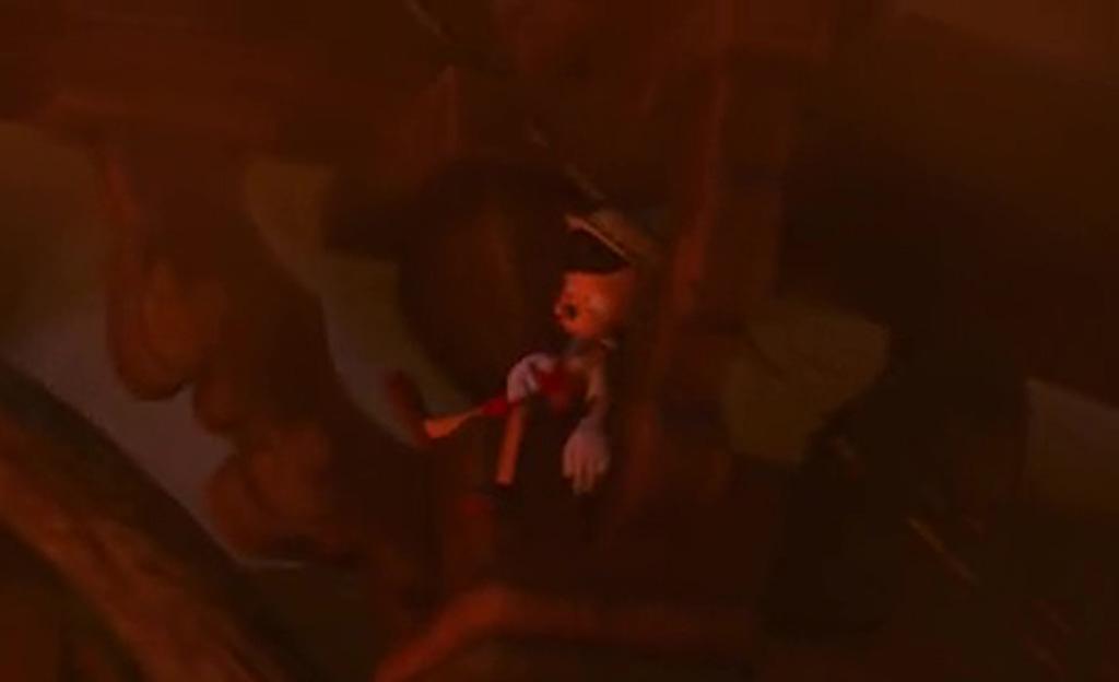 Pinocchio Cameo (Close-Up) - Tangled Easter Eggs