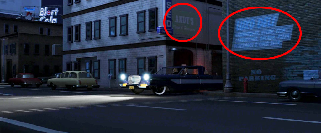 Luxo Deli and Andys - The Incredibles Easter Eggs