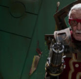 Stan Lee Cameo (The Barber)