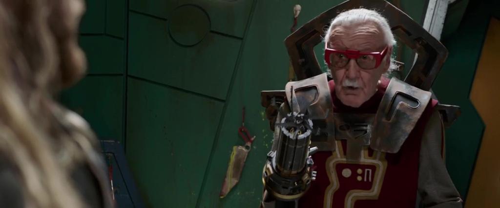 Stan Lee Cameo (The Barber) - Thor Ragnarok Easter Eggs