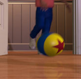Kid Kicking Luxo Ball