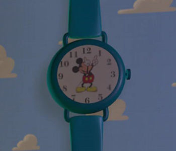 Mickey Mouse Clock (Close-Up)
