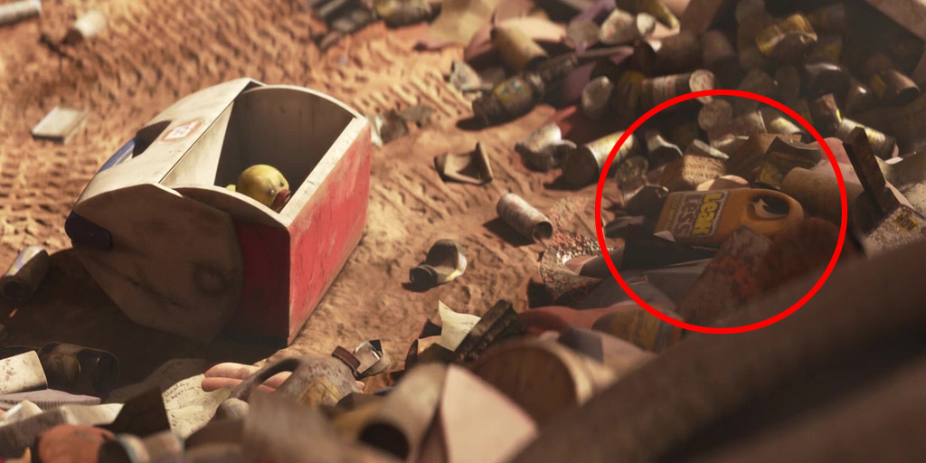 Leak Less Oil Pan - WALL-E Easter Eggs