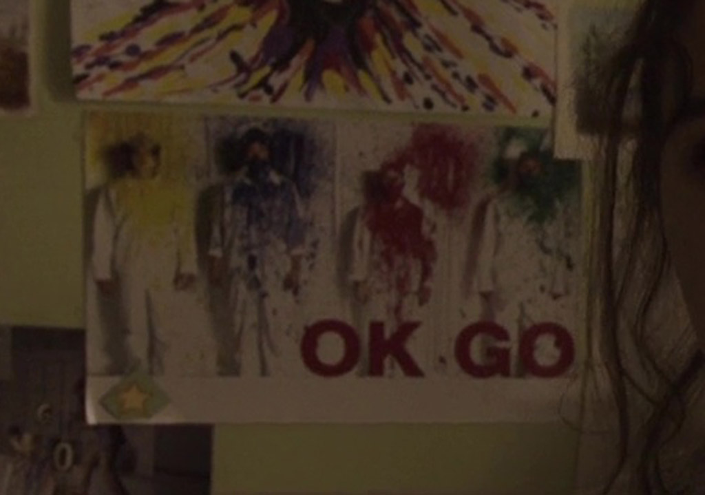 OK Go Poster - Wish Upon Easter Eggs