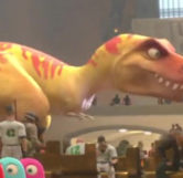 Tiny the T-Rex (Close-Up)