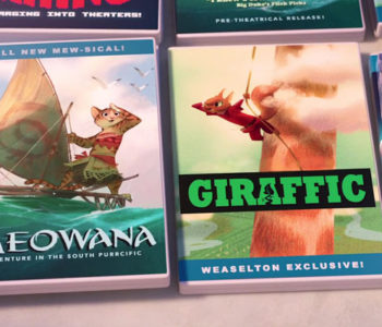 Upcoming Disney Movies (Moana, Gigantic and Frozen 2)