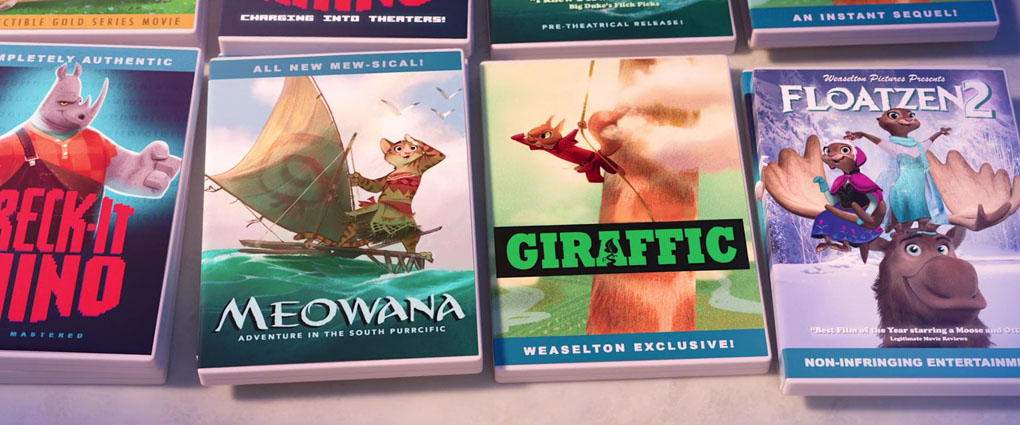 Upcoming Disney Movies (Moana, Gigantic and Frozen 2) - Zootopia Easter Eggs