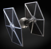 A Star Wars TIE Fighter