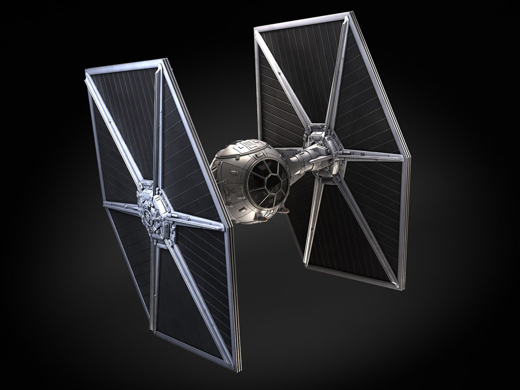 Bildresultat för tie fighter