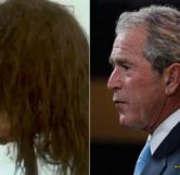 George Bush Head Comparrison