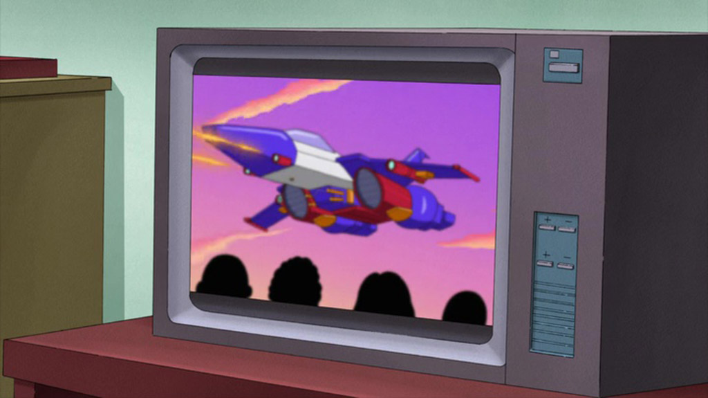 Starscream Cameo - King of the Hill Easter Eggs