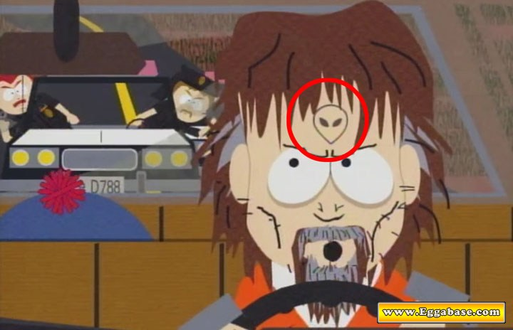 South Park Hidden Alien