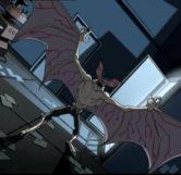 Dr. Langstrom as Man-Bat (The Batman Series)