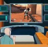 Dr. Venture Playing Team Fortress 2