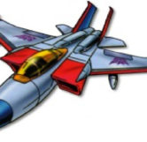 Starscream In His G1 Jet Form (Transformers)