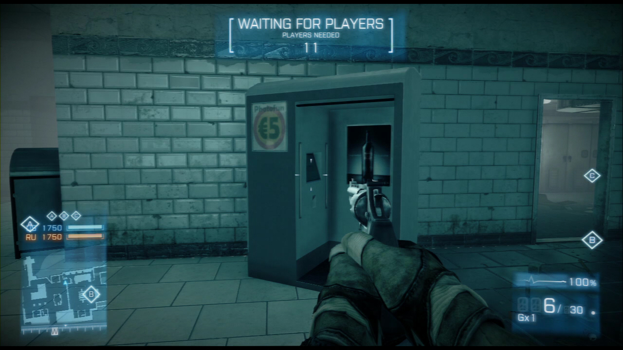 Operation Metro Photo Booth - Battlefield 3 Easter Eggs